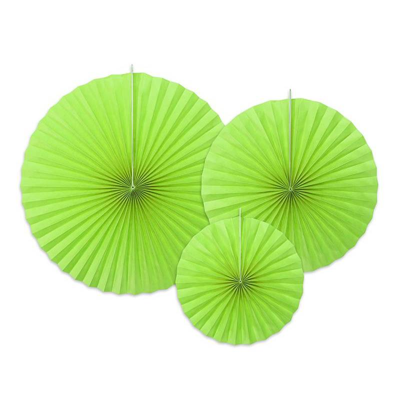 Rosettes décoratives l. vert