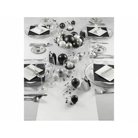 Satin Plain blanc 036 x 9m