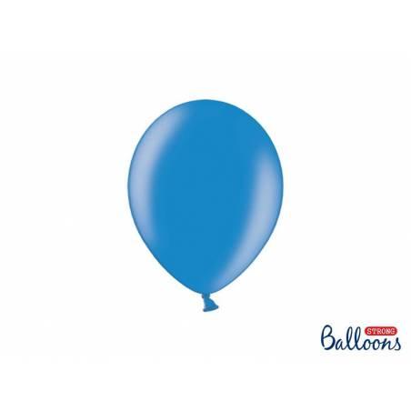 Strong Ballonss 23cm Bleuet Bleuet Métallisé