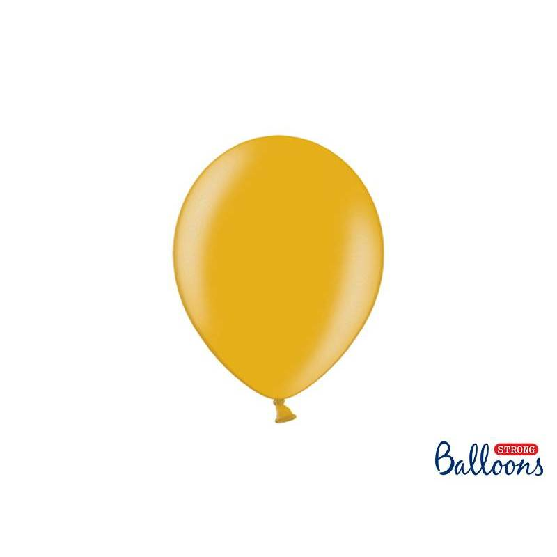 Ballons forts 23cm or métallique