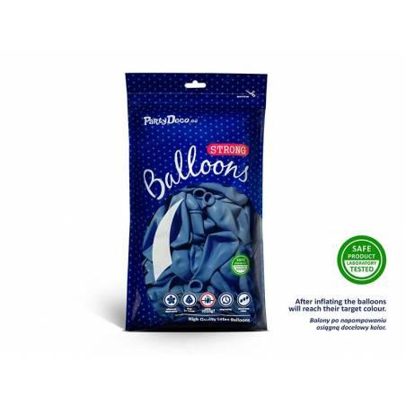 Ballons forts 23cm Bleu pastel bleuet