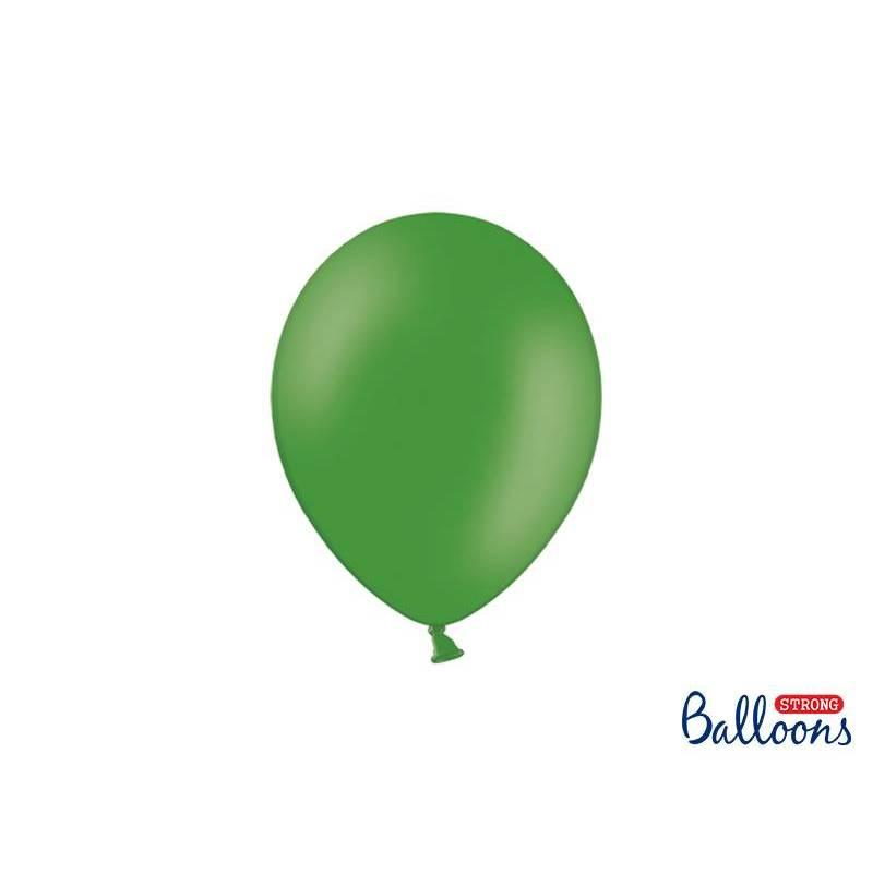 Ballons forts 23cm vert émeraude pastel