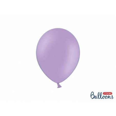 Ballons forts 23cm bleu pastel lavande