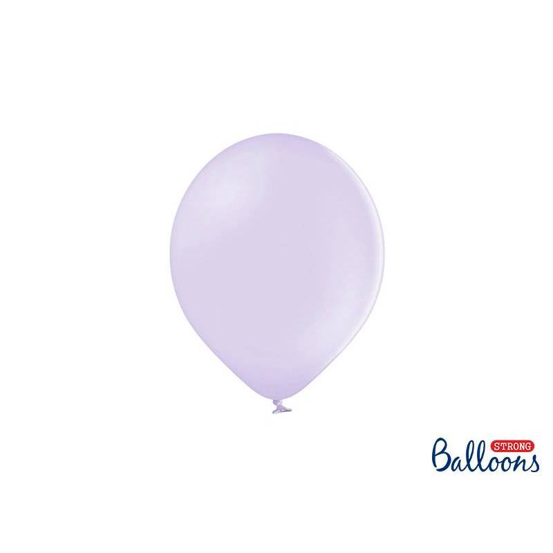 Ballons forts 23cm lilas clair pastel