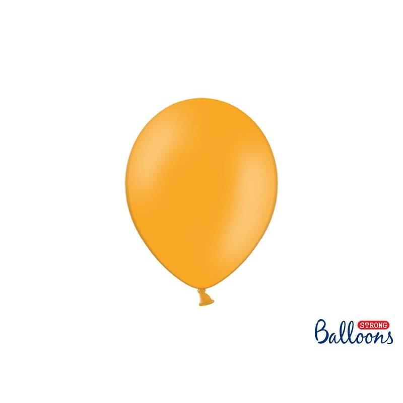 Ballons forts 23cm orange mandarine pastel