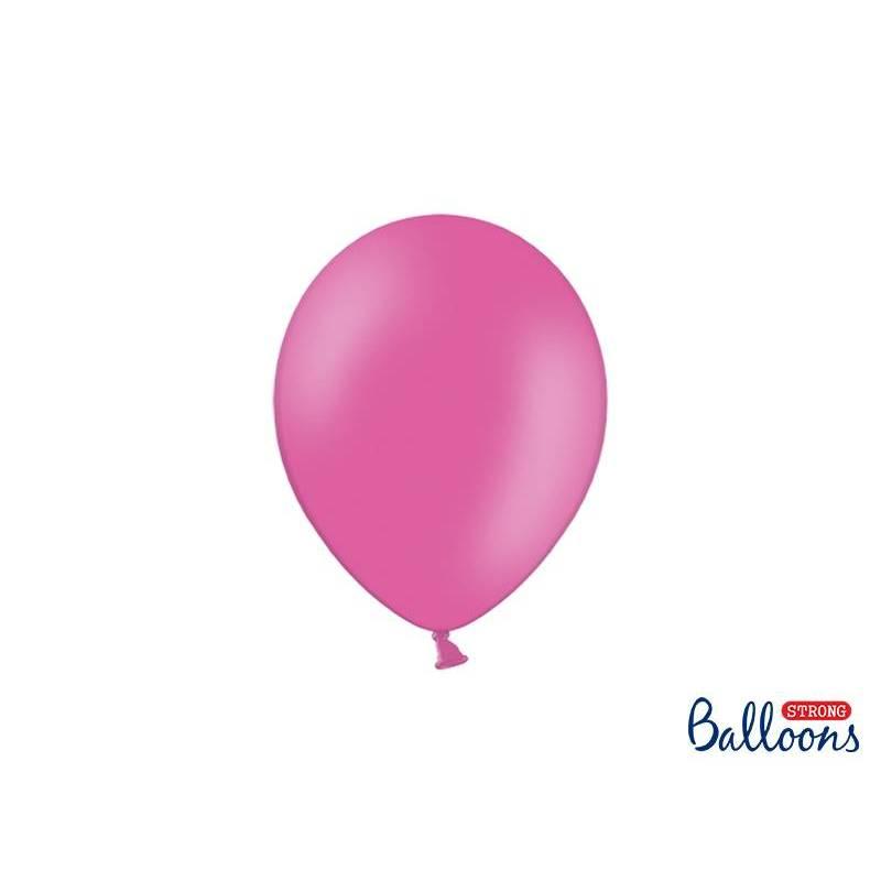 Ballons forts 23cm rose vif pastel