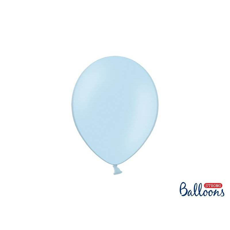 Ballons forts 23cm bleu pastel
