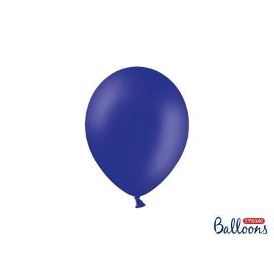 Ballons forts 23cm bleu royal pastel