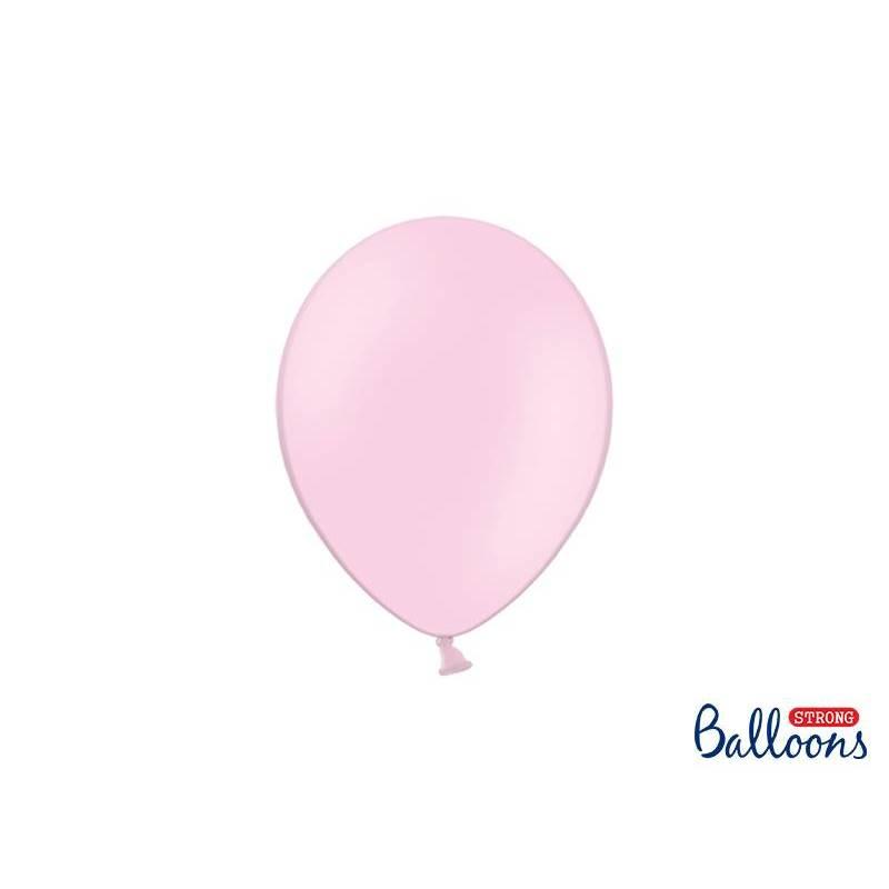 Ballons forts 23cm rose pastel