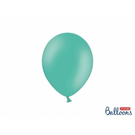 Ballons forts 23cm aigue marine pastel