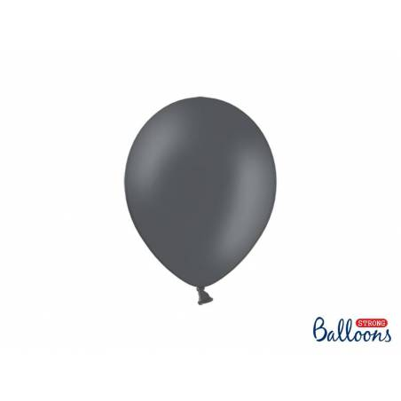 Ballons forts 23cm gris pastel