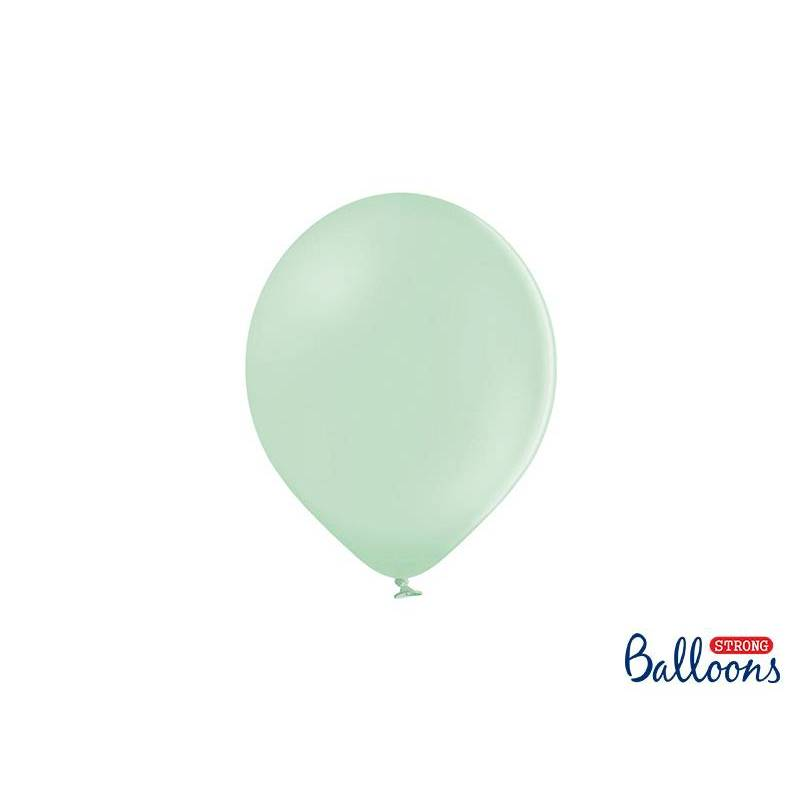 Ballons forts 23cm pistache pastel