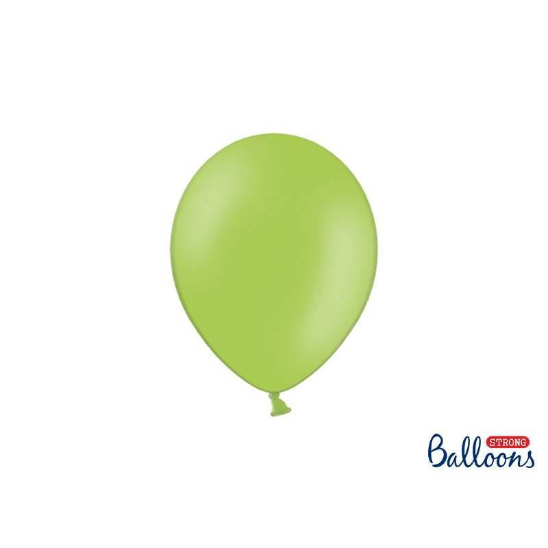 Ballons forts 23cm vert vif pastel