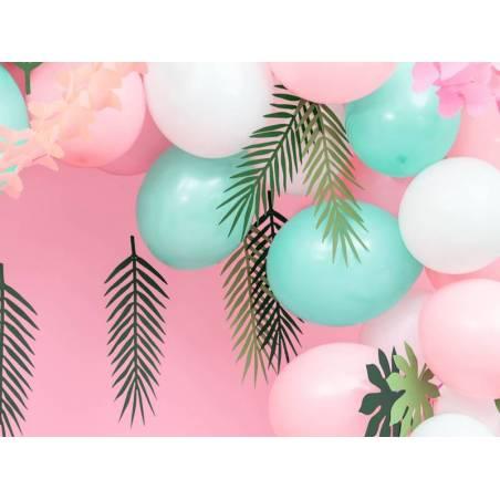 Ballons forts 23cm vert menthe pastel