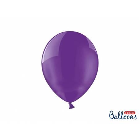Ballons forts 27cm cristal violet