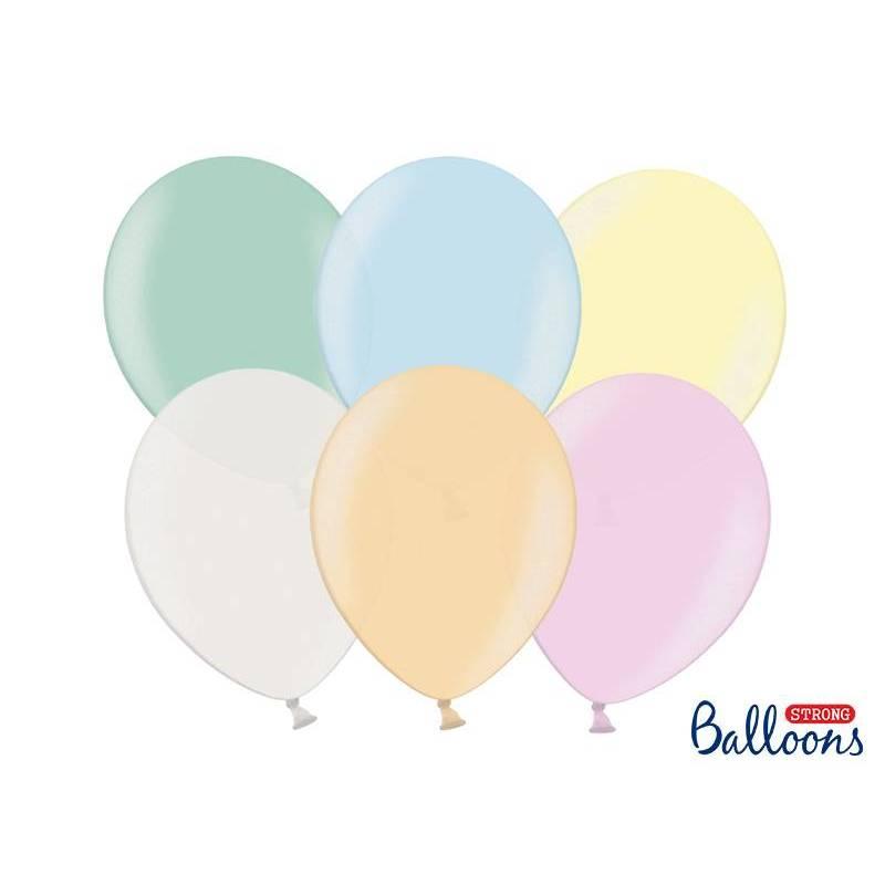 Ballons forts 27cm mélange nacré
