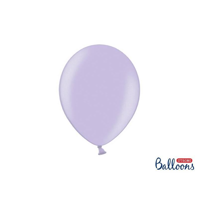 Ballons Forts 27cm Glycines Métalliques