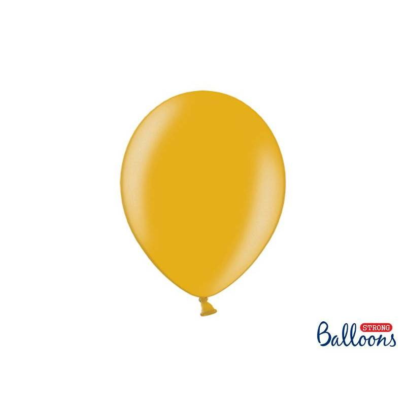 Ballons forts 27cm or métallique
