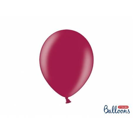 Ballons forts 27cm Bordeaux métallisé