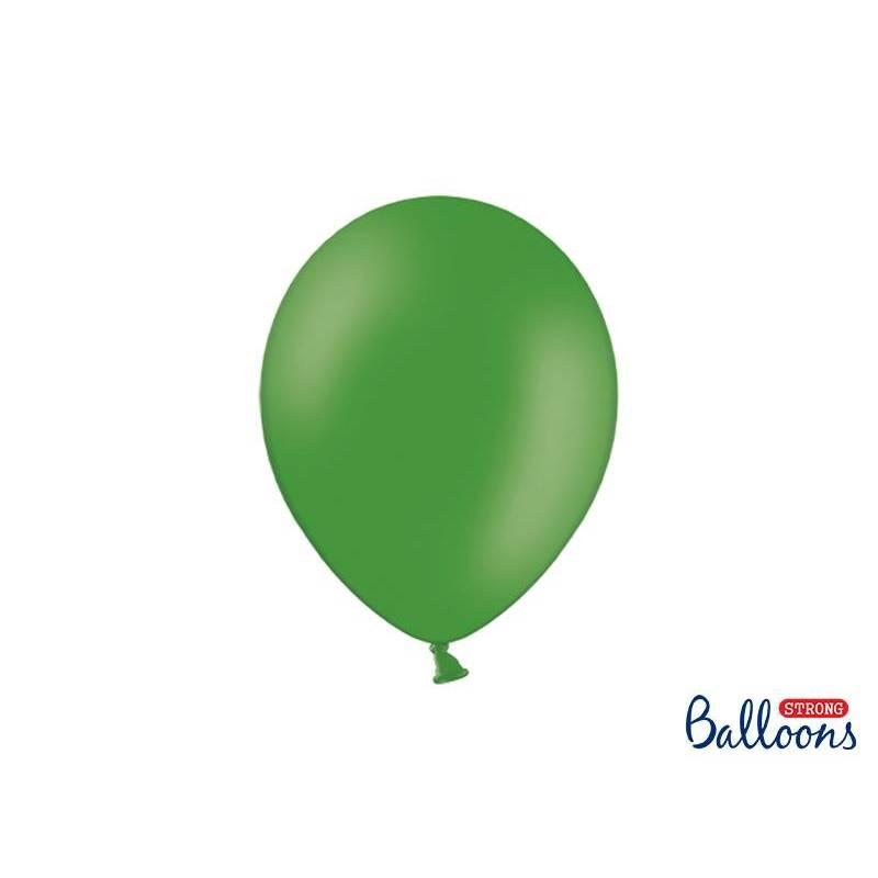 Ballons forts 27cm vert émeraude pastel