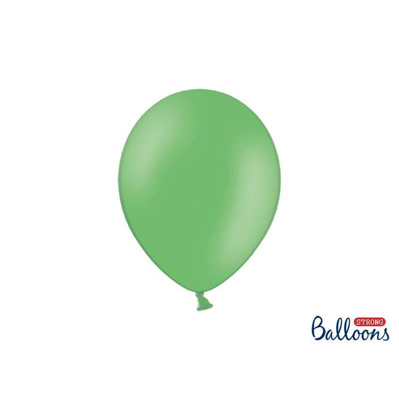 Ballons forts 27cm vert pastel