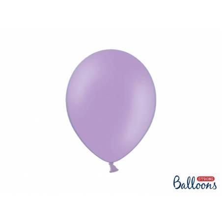 Ballons forts 27cm bleu pastel lavande