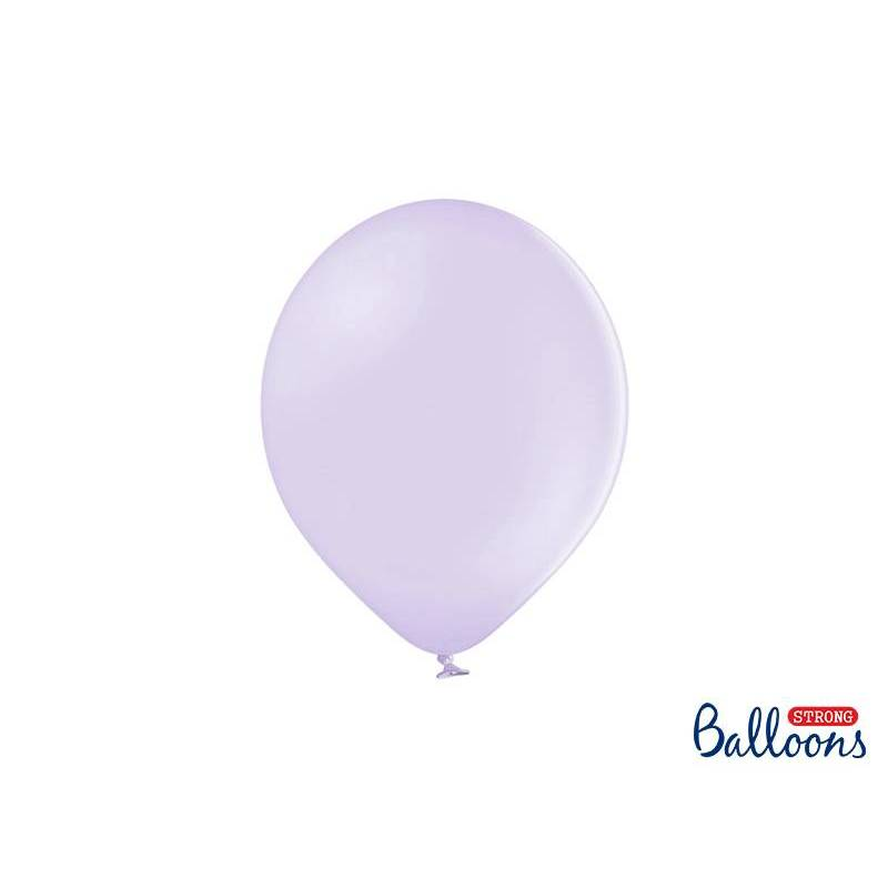 Ballons forts 27cm lilas clair pastel