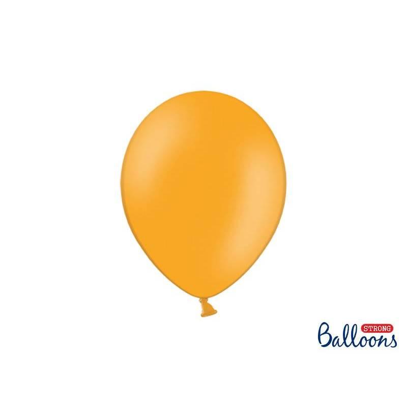 Ballons forts 27cm orange mandarine pastel