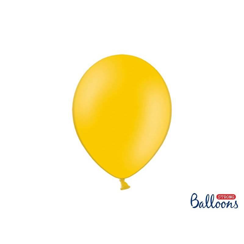 Ballons forts 27cm orange vif pastel