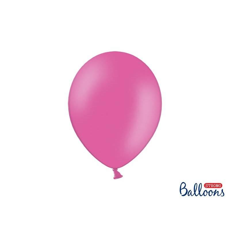Ballons forts 27cm rose vif pastel