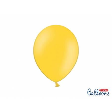 Ballons forts 27cm jaune miel pastel