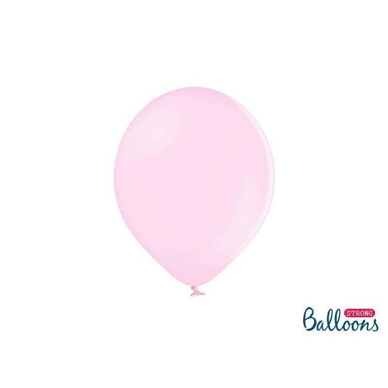 Ballons forts 27cm rose pâle pastel