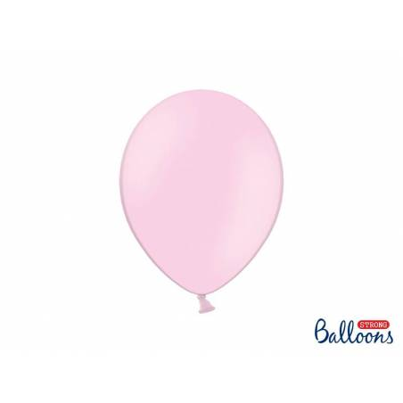 Ballons forts 27cm rose pastel pastel