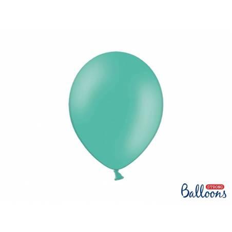 Ballons forts 27cm aigue marine pastel