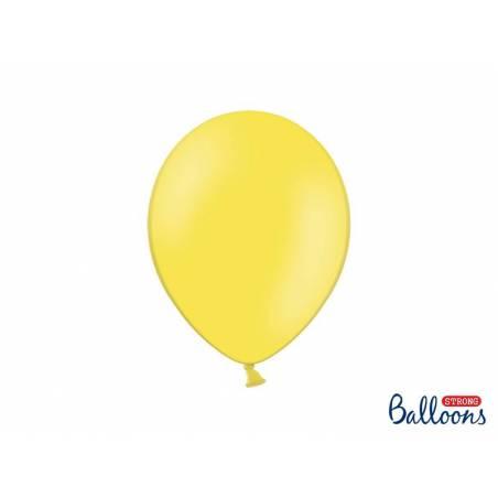Ballons forts 27cm zeste de citron pastel