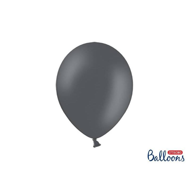 Ballons forts 27cm gris pastel
