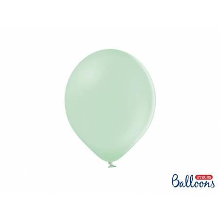 Ballons forts 27cm pistache pastel