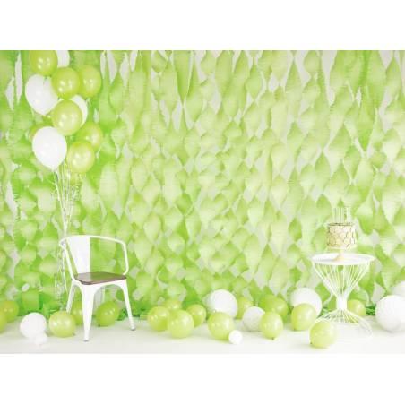 Ballons forts 27cm vert citron pastel