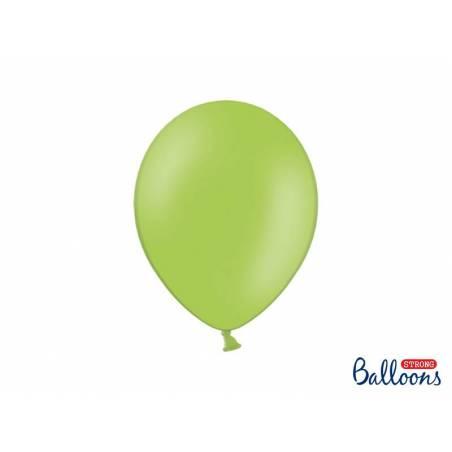 Ballons forts 27cm vert vif pastel