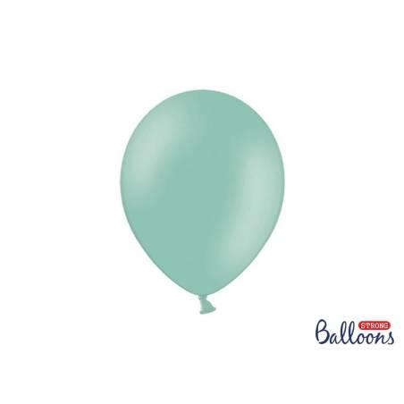 Ballons forts 27cm vert menthe pastel