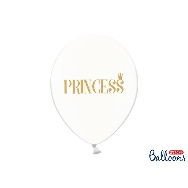 Ballons 30cm Princesse Transparent