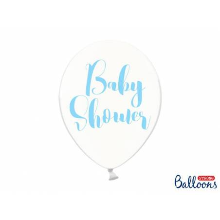 Ballons 30cm Baby Shower Crystal Clear