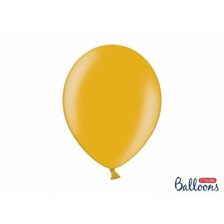 Ballons forts 30cm or métallique
