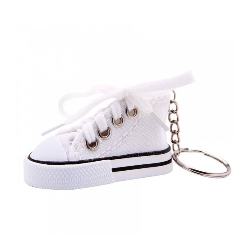 Porte-clés Mini Basket - Couleur blanc