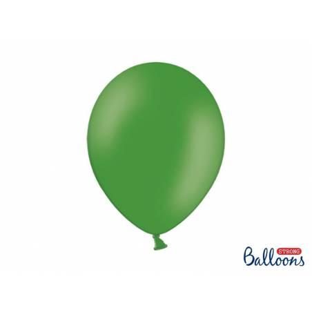 Ballons forts 30cm vert émeraude pastel