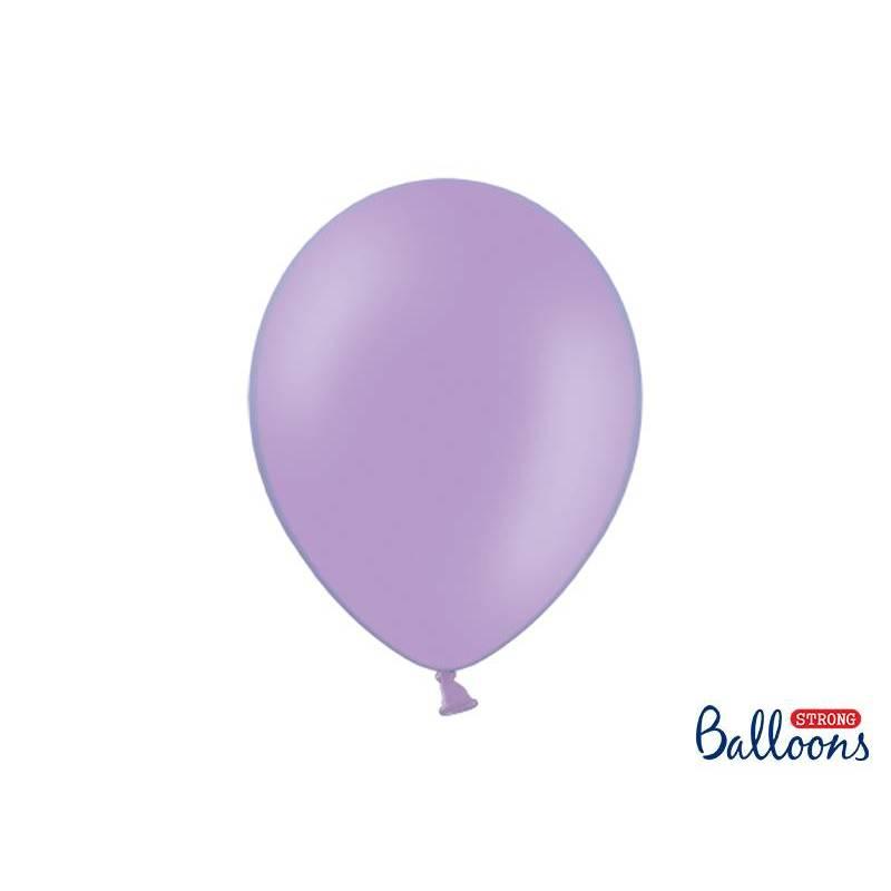 Ballons forts 30cm bleu pastel lavande