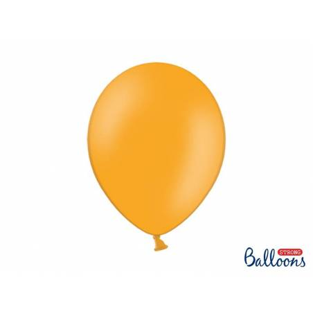 Ballons forts 30cm orange mandarine pastel