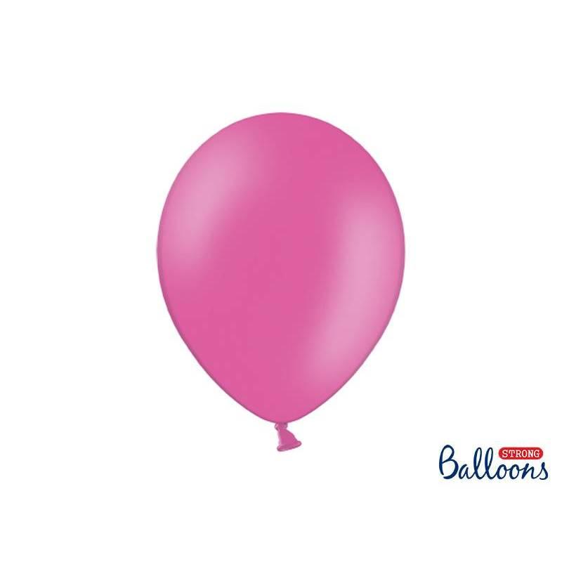 Ballons forts 30cm rose vif pastel