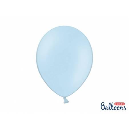 Ballons forts 30cm bleu pastel