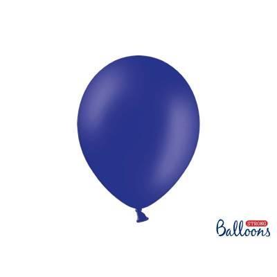 Ballons forts 30cm bleu royal pastel